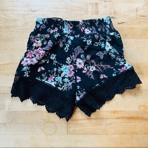 NWT LF Seek The Label Floral Shorts Small